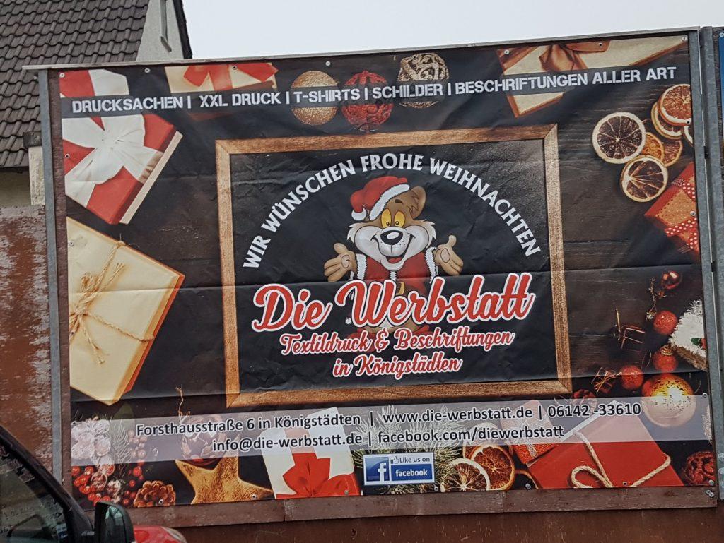 Banner Beispiel - Ihr habt die Idee, wir machen den Rest! Die-Werbstatt.de
