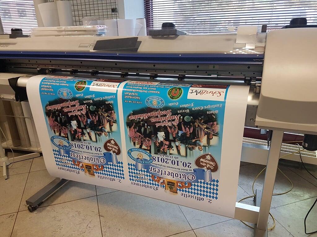 Druckerei Beispiel - Ihr habt die Idee, wir machen den Rest! Die-Werbstatt.de