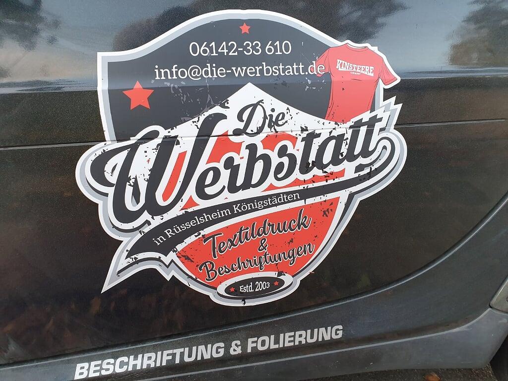 Beschriftung Beispiel - Ihr habt die Idee, wir machen den Rest! Die-Werbstatt.de
